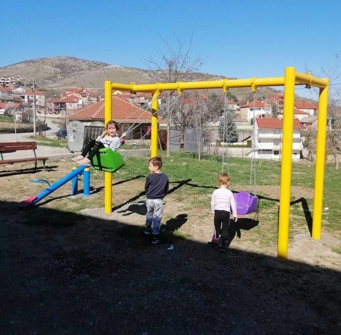Поставена урбана опрема во Горно Оризари и Башино село